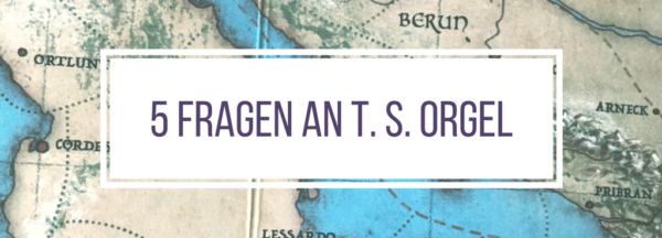 Interview, 5 Fragen an T. S. Orgel