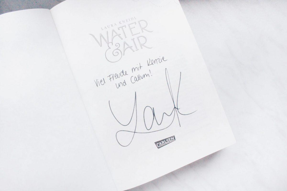 Autogramm Laura Kneidl