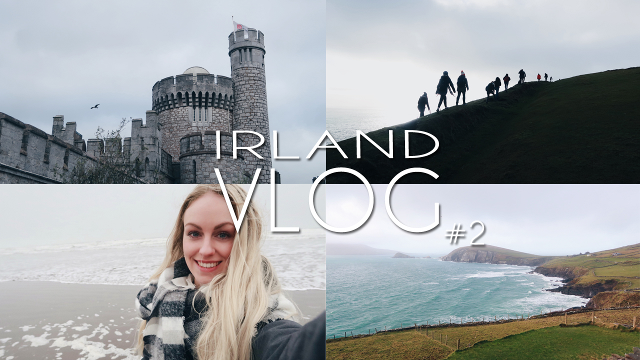 Irland-Vlog 2: Spaziergang am Atlantik, Blackrock Castle & Dingle