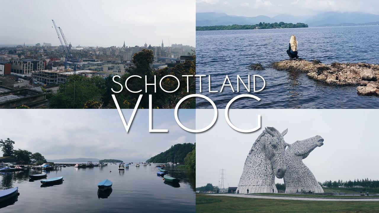Schottland-Vlog: Edinburgh und ein Ausflug zum Loch Lomond