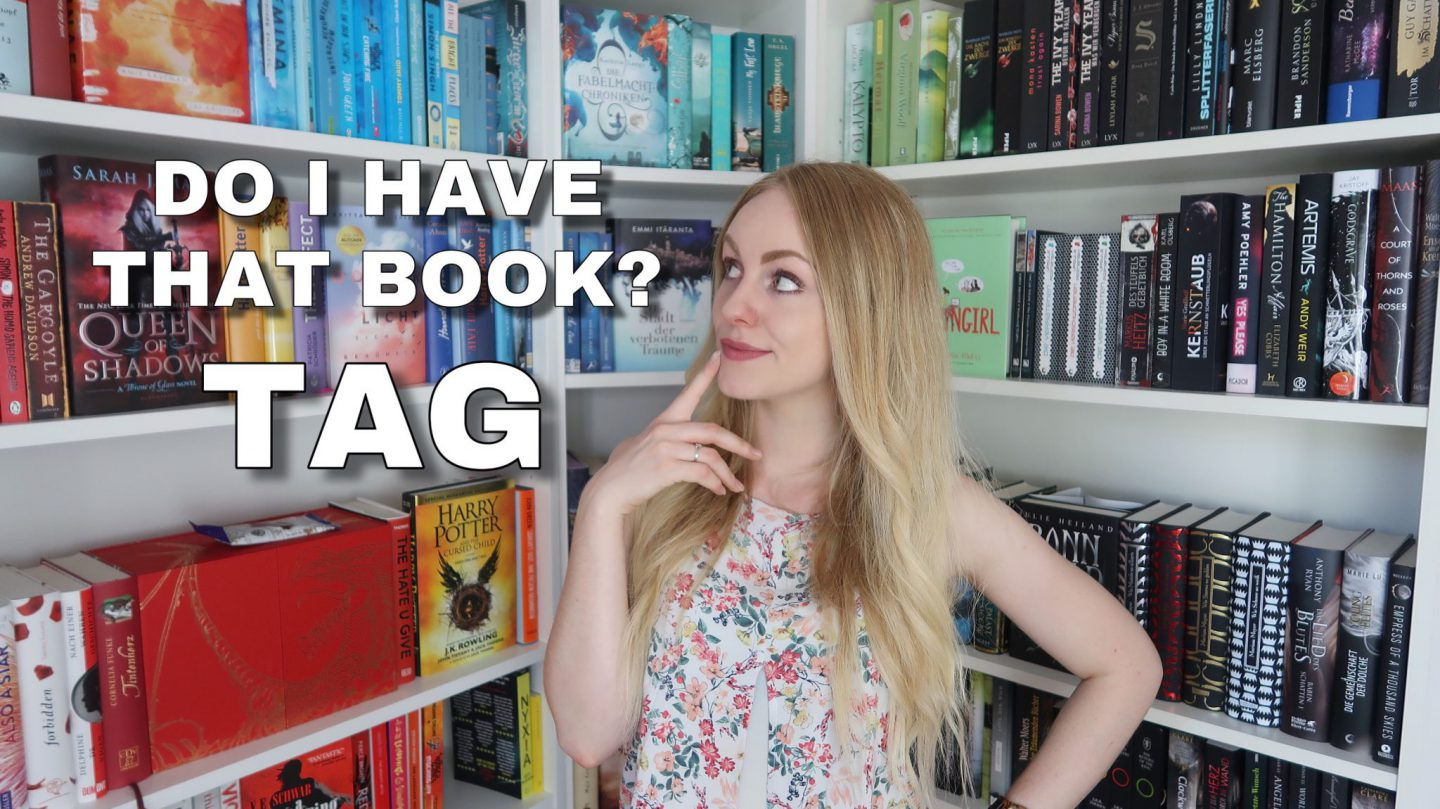 Do I have that Book Tag