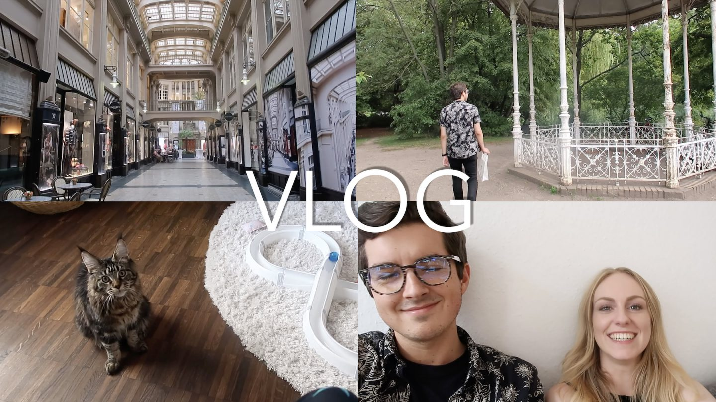John in Leipzig & Cat Content | Vlog